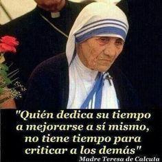 Madre Teresa #frases #citas