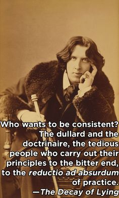 Oscar Wilde, a writer and merciless wit of (mostly) the 19th century. / 10 Nonconformists On How They Changed The World (via BuzzFeed)