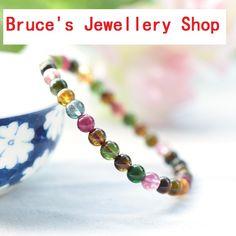 Wholesale 5A Natural Stone Chakra Bracelets DIY Tourmaline Bracelet Charm Women Stone Jewelry Handmade DIY HOT Beads Jewelry