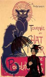 Chat Noir was the first ever cabaret to open its doors – in Paris, 18th of November 1881. This picture