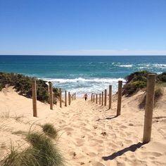 St Andrew's Beach in Mornington Peninsula Nat Pk, VIC