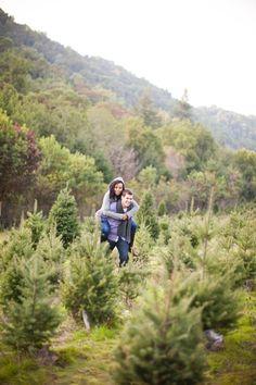 Vinnie Sylviana Bay Area Engagement Photography DELBARR  - Bay Area Christmas Tree Farms