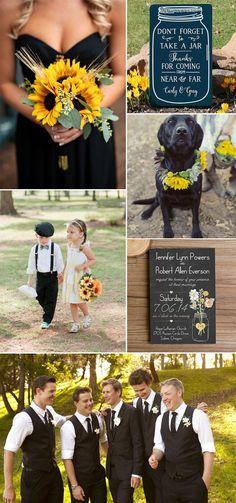 boho rustic wedding invitations with mason jars and heart chalkboard EWI369