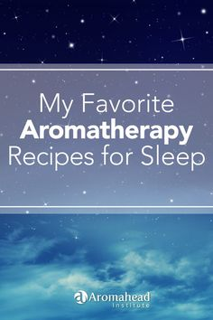I have created and shared so many Aromatherapy recipes for sleep but there is always room for a few more! Here's a blog post with my my favorite essential oils to use for sleep blends! http://www.aromahead.com/blog/2015/05/25/favorite-aromatherapy-recipes-sleep/