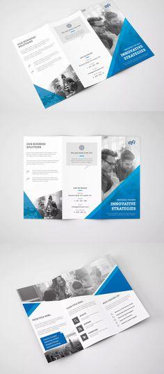 corporate tri fold colorful brochure design layout pinterest tri fold brochures and corporate brochure - Colorful Brochure Templates