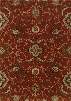 Casablanca 4471B Red/ Multi Rug
