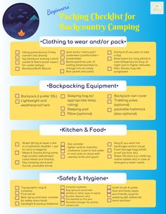Backpacking Checklist || Packing List || Your first time backcountry camping can be a bit scary so, with this post, I will provide a beginner's guide for your wilderness journey to help put your mind at ease. #backpackingtips #backpacking #campinggear #campingtips #camping #hiking #hikingtips #hikinggear #girlsthatwander #wildernesscamping #wildernessculture #wildernessgear #neverstopexploring #checklist #campinglist #backcountry #optoutside  #nationalparks #findyourpark