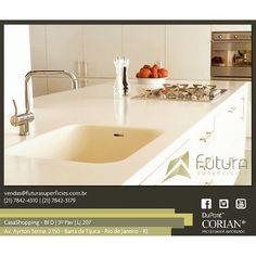 #corian #cozinhagourmet #cozinha #futurasuperficies #casashopping #luxoeriqueza #arquitetura #designinterior #designinteriores