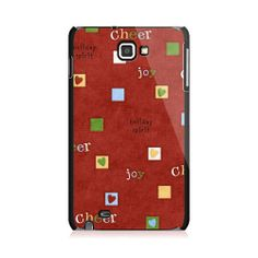Heart in Squares Red Samsung Galaxy Note Case