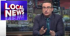 John Oliver Exposes The Right-Wing Media Empire Taking Over Your Local News | HuffPost