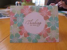 Really simply DIY hand-made card!