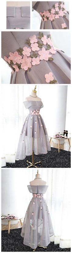 2017 Homecoming Dress Tulle Off-the-shoulder Short Prom Dress Party Dress JK078