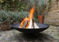 Buy Cast-iron disc brazier: Delivery by Waitrose Garden in association with Crocus