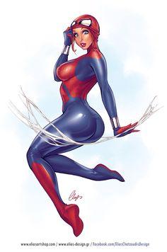 Spider-Girl - by Elias Chatzoudis   #comics #marvel