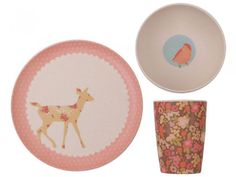 Woodland Critters Dinnerware Set