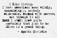 Oh, Agatha.