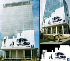 Clever and Creative Advertisements on Buildings