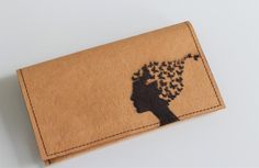 Vegan tobacco pouch for her with laser engraved Butterfly Lady made of washable paper. Leather Tobacco Pouch, Creative Studio, Uk Shop, Laser Engraving, Vegan Leather, Butterfly, Handmade Gifts, Lady, Paper