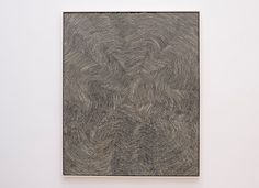 """An Aboriginal Artist's Dizzying New York Moment - The New York Times  An untitled painting by Warlimpirrnga Tjapaltjarri in his show at Salon 94. He began painting on canvas in the 1980s after his family was """"discovered"""" in the wild. Credit Karsten Moran for The New York Times"""