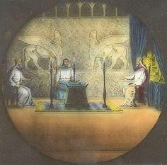 The original Masters. King Solomon, Hiram, King of Tyre, and Hiram Abiff.