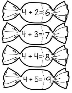 This Pin was discovered by ÖĞR Kids Math Worksheets, Kindergarten Math Activities, Teaching Math, Learning Activities, Preschool Activities, Math For Kids, Fun Math, Math Addition, Math Numbers