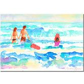 Found it at Wayfair - 'Splash' by Wendra Painting Print on Canvas