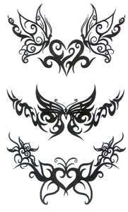 Tribal butterfly... top one... forever sisters :-)