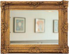 Espelho Decorativo Clássico Dourado Envelhecido DP1882 - Decore Pronto