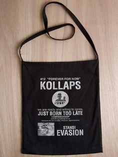 Raf Simons Kollaps bag