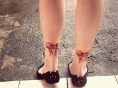 bow tattoo: I've always wanted to do this! Haha