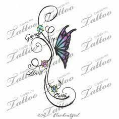 children's names tattoos for women - Google Search                              …