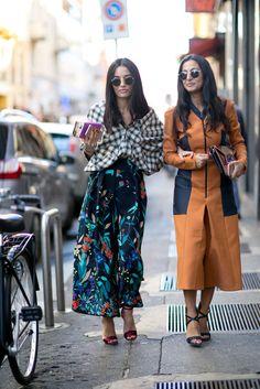 Fashion Week Street Style Spring 2016 | POPSUGAR Fashion