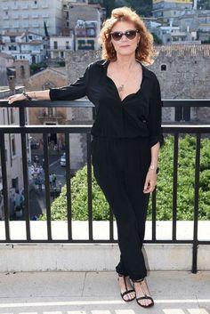 Susan Sarandon discusses sexuality - celebrity news | Glamour UK channels cynthia basinet