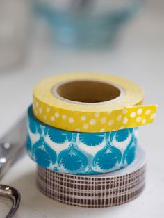 love lotta jansdotter. these cool, washi tapes are a part of her collection for Nest.