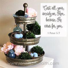 1 Peter 5:7 - Cast a