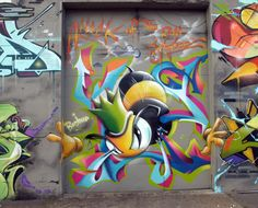 "The Royal KingBee and 4B in Montreal Canada and The Hall of Fame ""Case2"" wall"