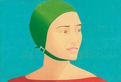 Alex Katz Print, Museum of Fine Arts Boston (show runs through July 29th, 2012)
