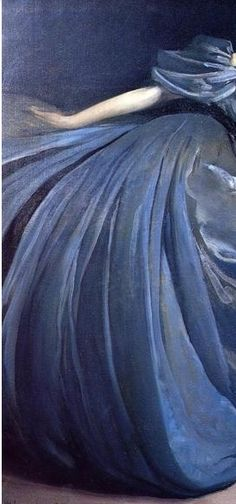 Althea by John White Alexander. 1895. Detail.