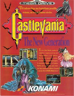 Castlevania: The New Generation. Mega Drive
