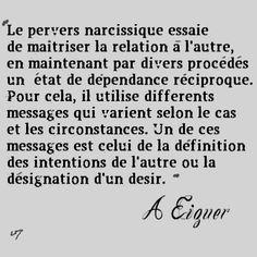 pervers narcissique, A. Eiguer (3)
