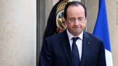 French President Francois Hollande comes to America... alone