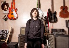 Bobby Gillespie from Primal Scream, in the band's studio in Primrose Hill, London. All clothing: Givenchy by Riccardo Tisci. Photograph: Karen Robinson for the Guardian Karen Robinson, Ben Howard, Music Articles, Sigur Ros, Primal Scream, David Cameron, All About Music, Britpop, Boris Johnson