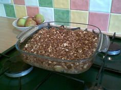 Apple Crisp sweetened with juice and is gluten free (depending on which oats you use)
