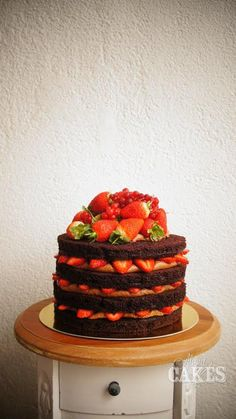 bolo de morango | all about cakes