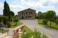 House in Allerona, Italy. The house is composed by two independent apartments and can host up to 12 people