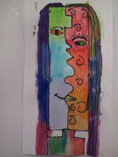 Picasso Cubism Self Portraits