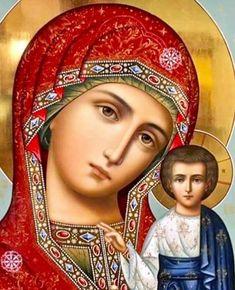 << 8 января православный мир празднует СОБОР ПРЕСВЯТОЙ БОГОРОДИЦЫ🌺 Собором он называется потому, что в отличие от отдельных праздников в честь Пресвятой Богородицы (например, Ее Рождество, Благовещение и пр.) в данный день совершается общее (соборное) празднование и других святых, близких Пресвятой Деве Марии и Господу Иисусу Христу>> Madonna Art, Madonna And Child, Blessed Mother Mary, Blessed Virgin Mary, Religious Icons, Religious Art, Mama Mary, Mary And Jesus, Byzantine Icons