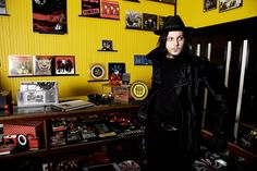 Check out Jack White as he talks with Rolling Stone about his choice of song styles, buying his first blues records, and the process of creating Third Man Records.