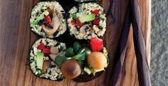 Crazy Sexy Kitchen Recipe: Vegetable Sushi Maki Rolls #vegan #recipes #glutenfree #healthy #dinner #plantbased #whatveganseat