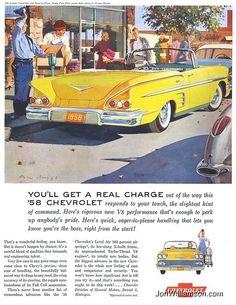 Vintage Chevrolet Ad